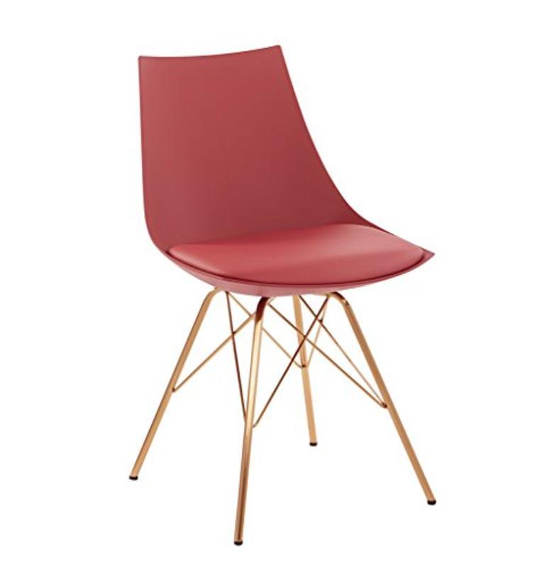 OSP Home Furnishings Oakley Mid-Century Modern Chair
