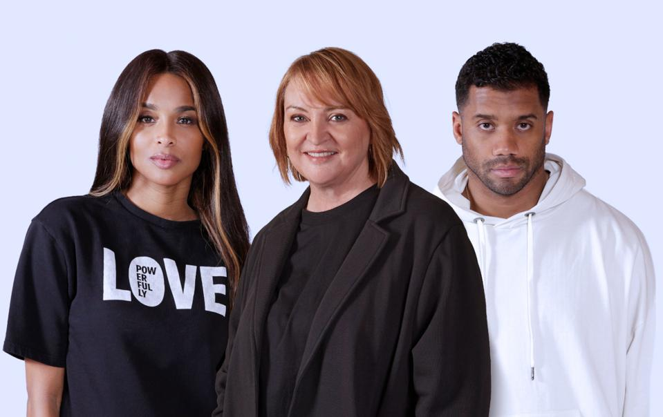 The House of LR&C's Co-Founders (from L to R: Ciara, Christine Day, & Russell Wilson)