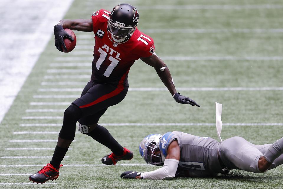 Atlanta Falcons Need Healthy Julio Jones For 8-8 Finish