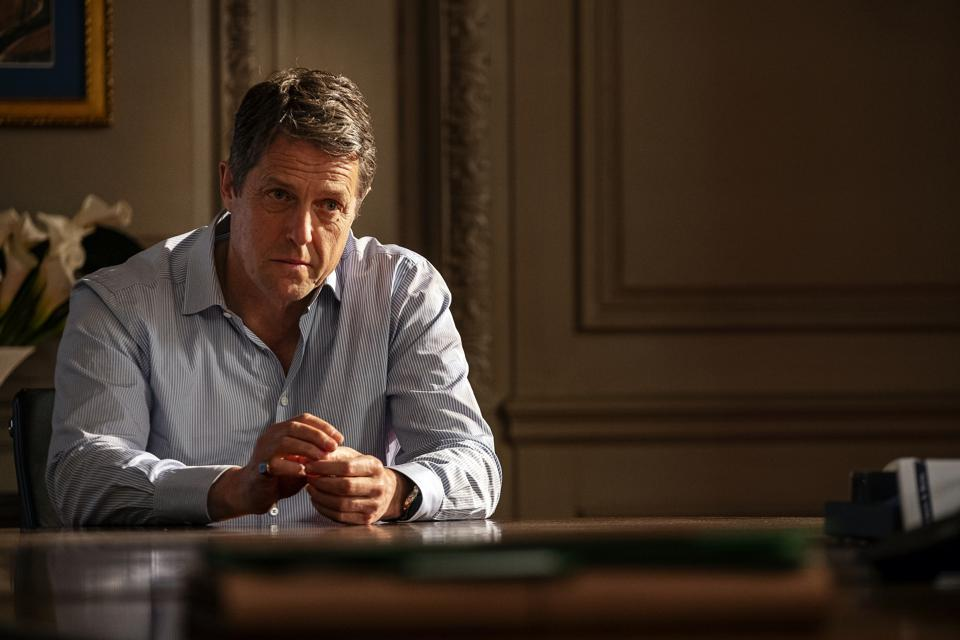 Hugh Grant in 'The Undoing' on HBO.