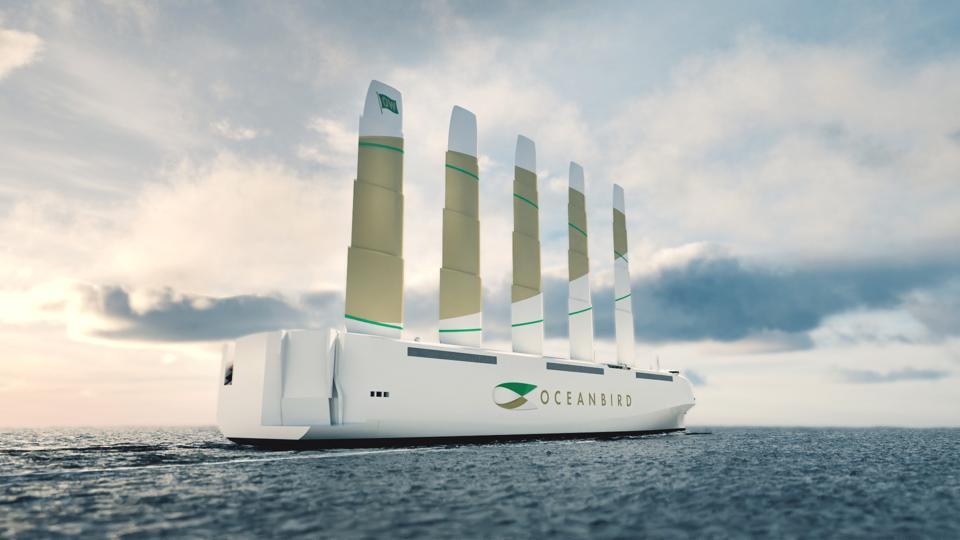 Oceanbird: the new Swedish design for large cargo ships