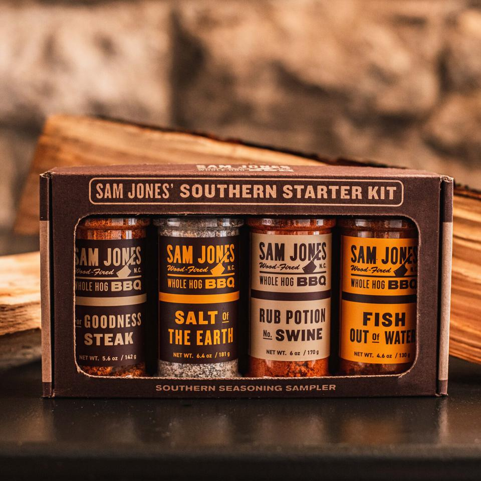 Sam Jones BBQ spice kit