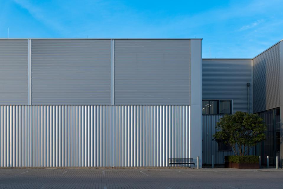 Exterior Of Building Against Blue Sky