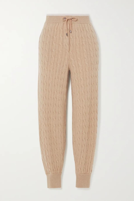 Beaded Cashmere Sweatpants