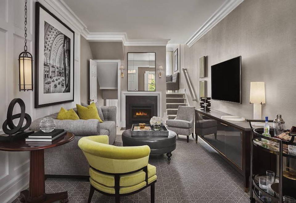 A living room that feels like home