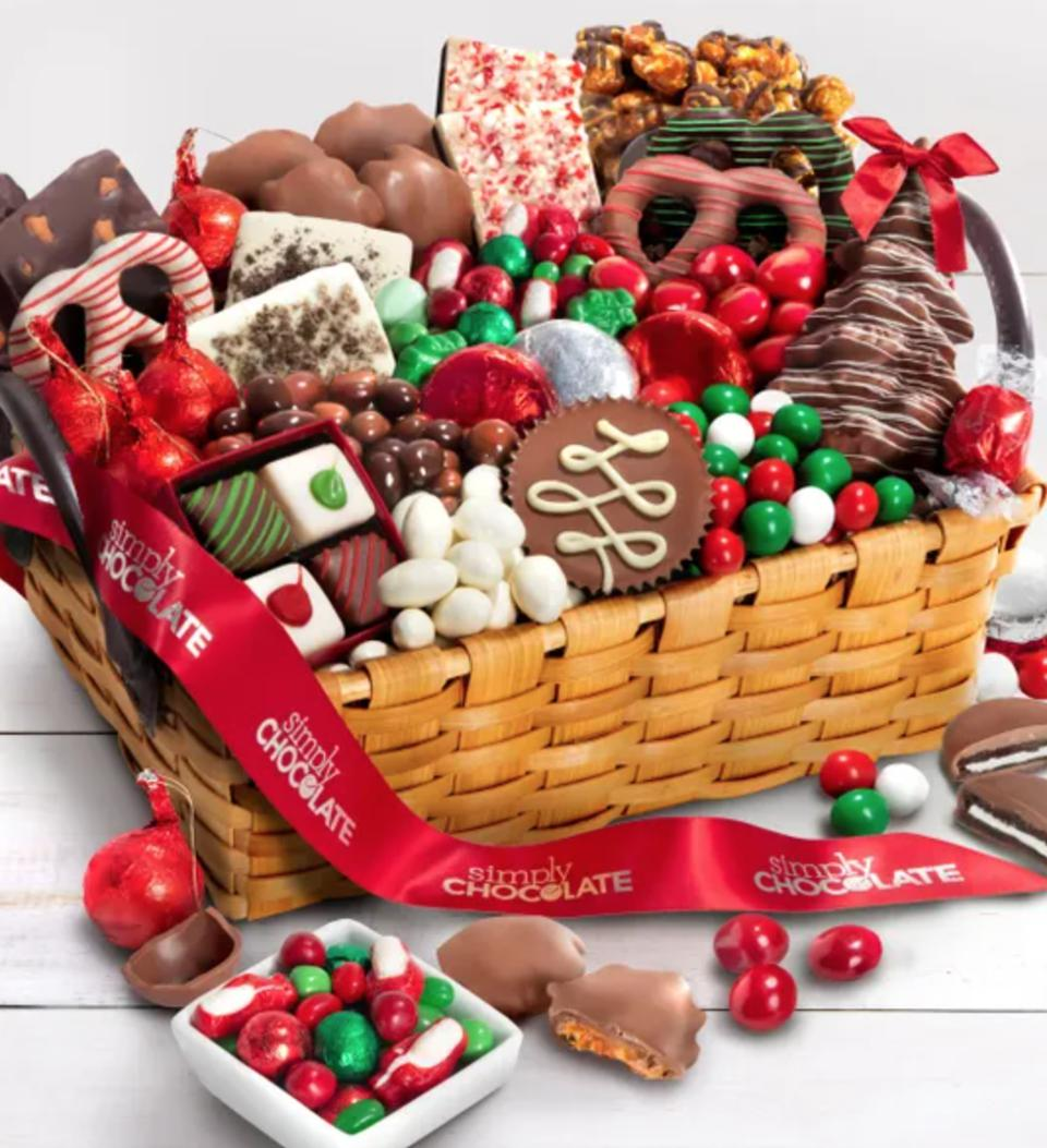 Simply Chocolate Premier Celebrate Season Basket