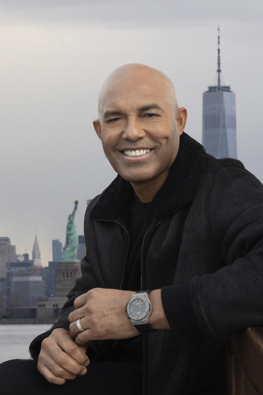 Mariano Rivera, Hublot Classic Fusion Concrete Jungle watch