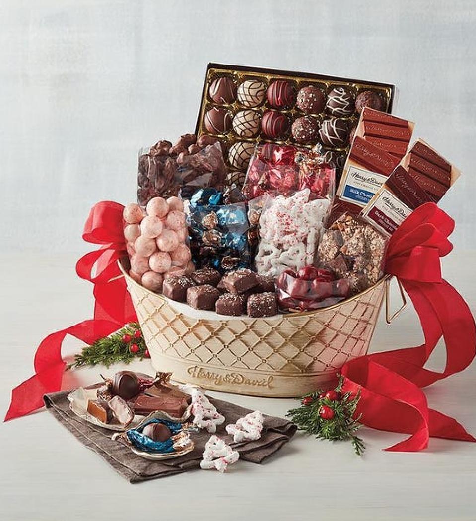 Deluxe Chocolate Gift Basket