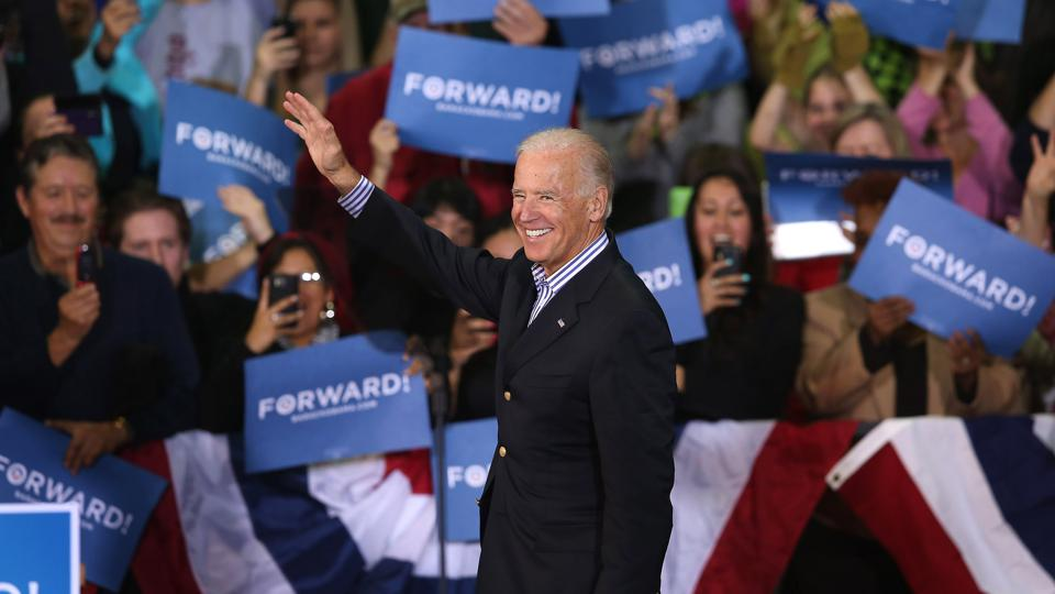 Joe Biden Campaigns In Wisconsin