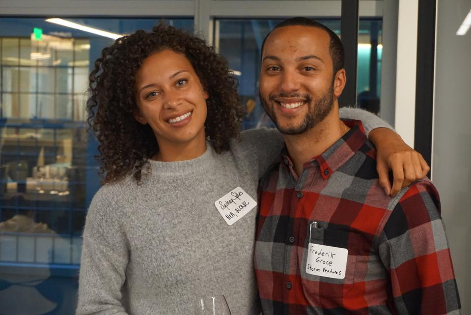 Blck VC cofounders Sydney Sykes and Frederik Groce