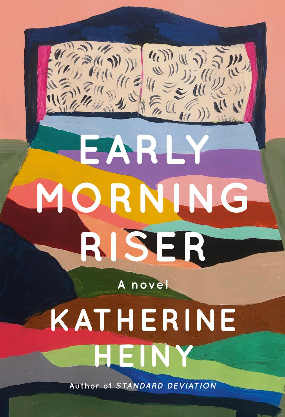 early morning riser katherine heiny novel fiction book cover knopf