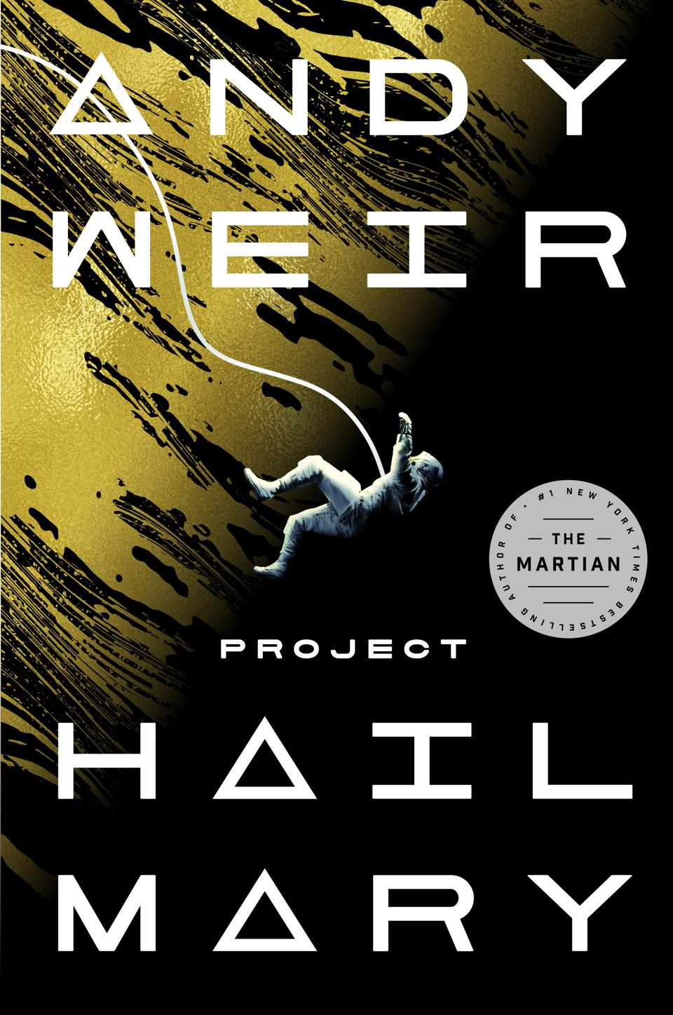 andy weir project hail mary novel fiction book cover ballantine books