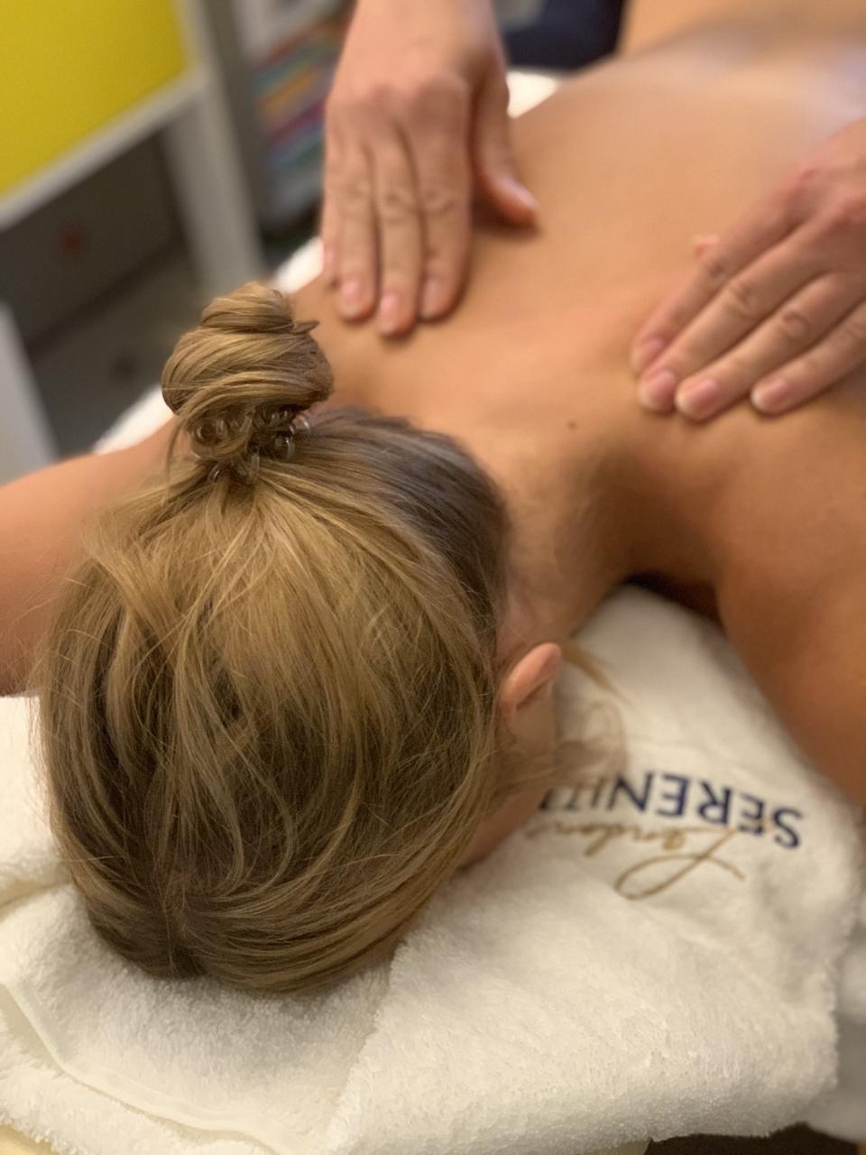 Deep tissue massage by London Serenity