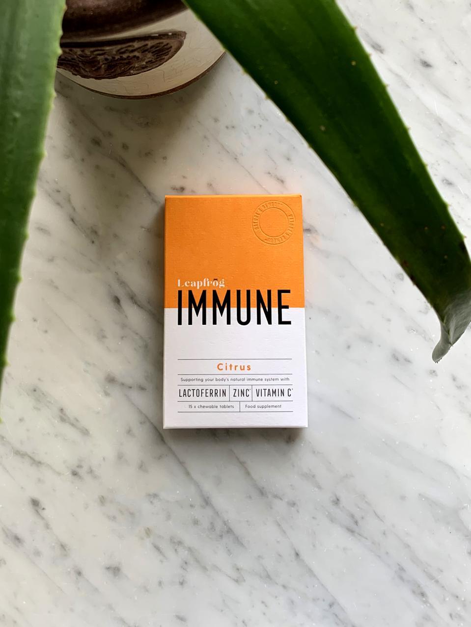 Immune support by Leapfrog