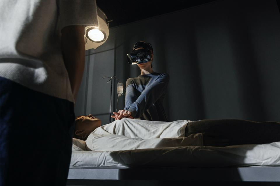 The XR-3 is Varjo's mixed reality headset