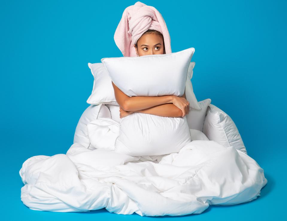 FluffCo Down & Feather Pillow