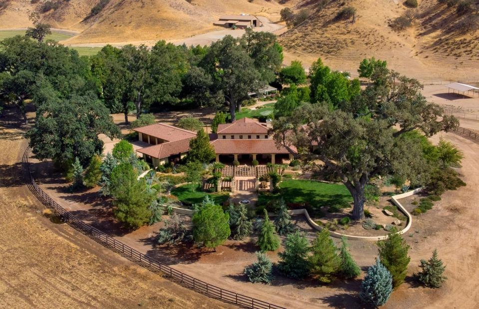 La Panza Ranch, California, outlaw Jesse James, real estate, cattle ranch, olive oil, Covid
