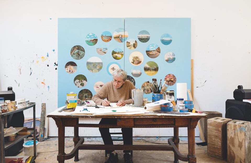 William Wegman in ″Open Studio″