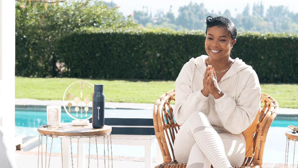Gabrielle Union and Dwayne Wade's guided meditation with Logan Browning.
