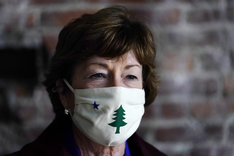 US Senator Susan Collins (R-Maine)