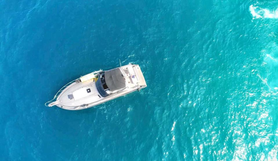 Boat in cabo san lucas
