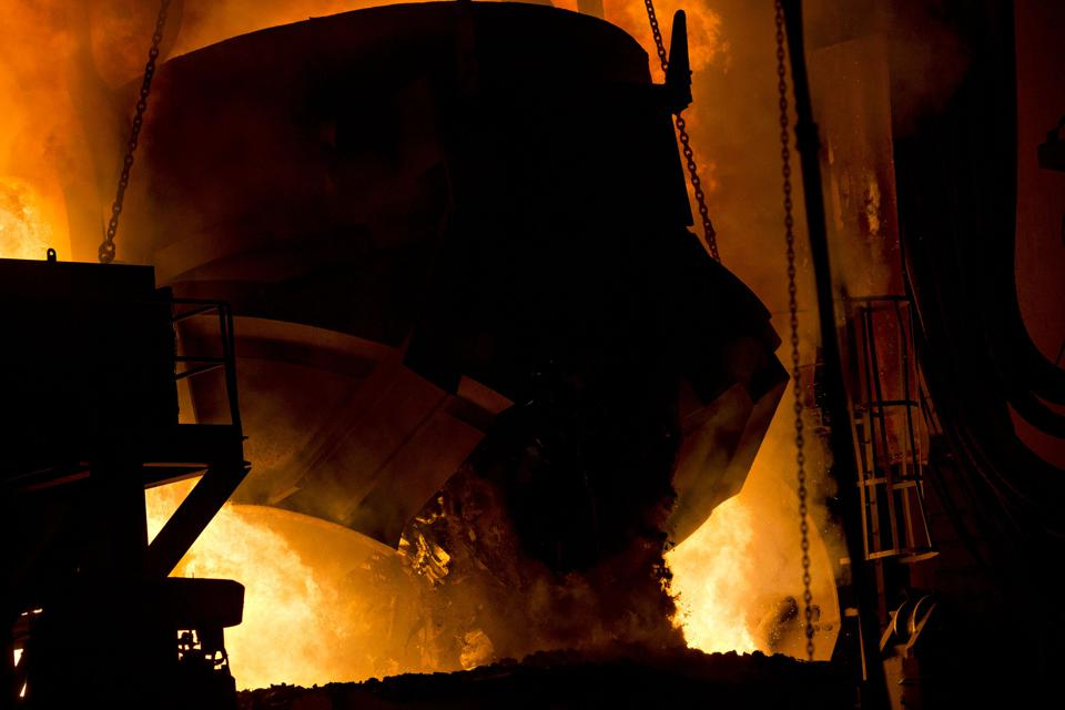 Inside The NLMK Indiana Steel Facility As Shares Advance Most This Year