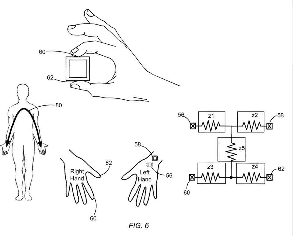 Some details of how the blood pressure monitoring might work on a future Apple Watch.