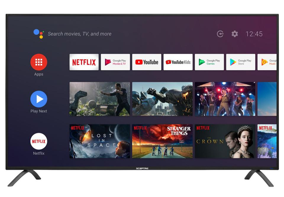Sceptre 50″ Class TV (2160p) Android Smart 4K LED TV with Google Assistant