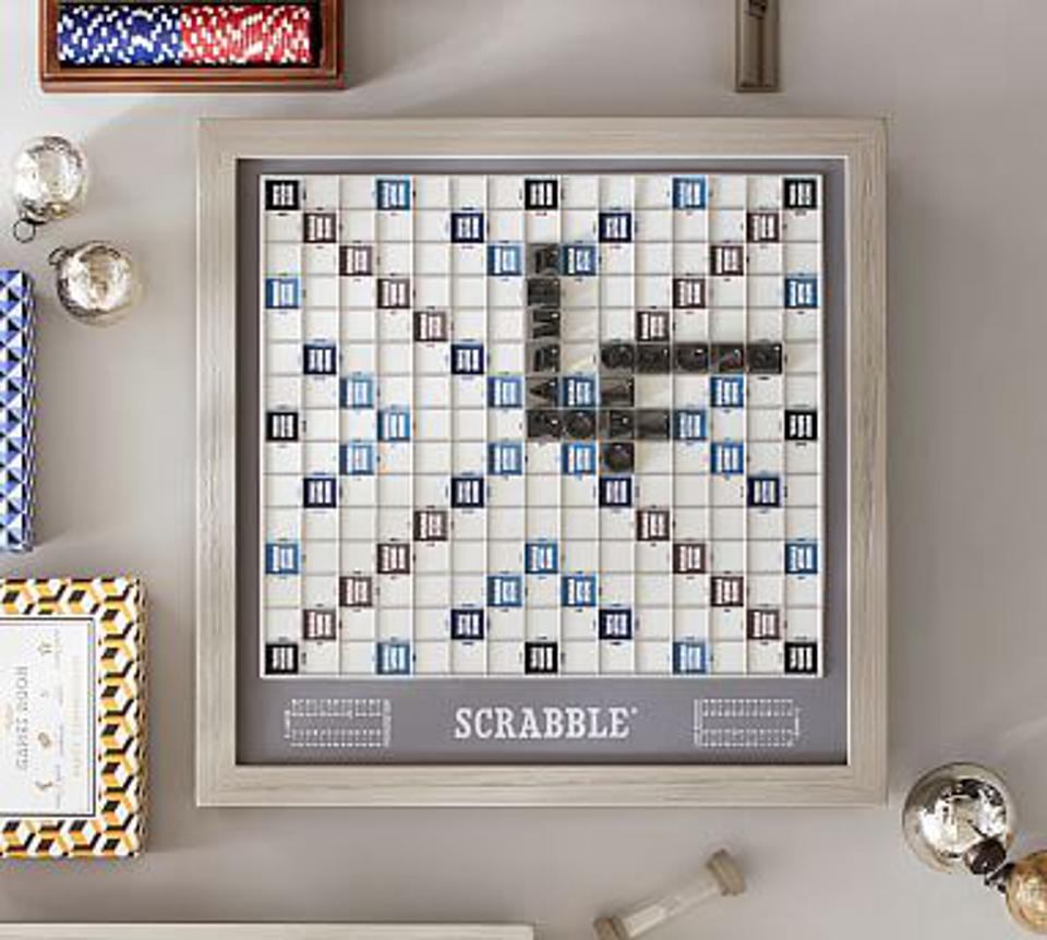 Wooden Scrabble Board Game - Luxury Edition