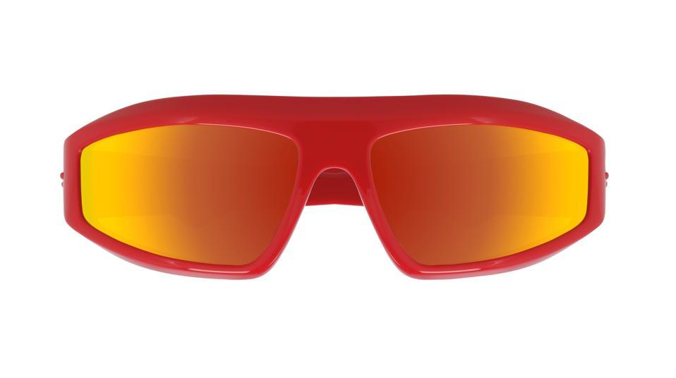 Bottega Veneta Wraparound Sunglasses