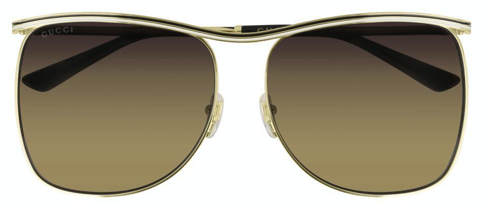 Gucci Square-frame sunglasses.