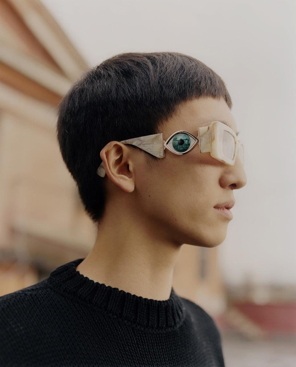 Please submit images on models (no flats). - The Ignasi Monreal x Etnia Barcelona collection is filled with details that make each pair of glasses into a jewel fit for a collector.