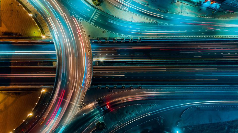 Less congested roads could be one application of 5G technology.