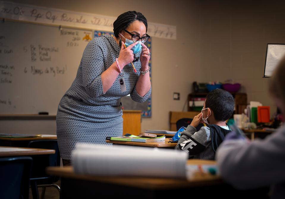 Sharon Contreras, superintendent of Guilford County Schools in North Carolina