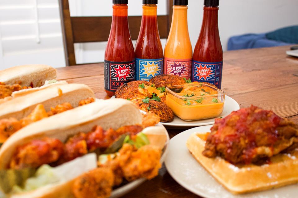KPop's sauce lineup