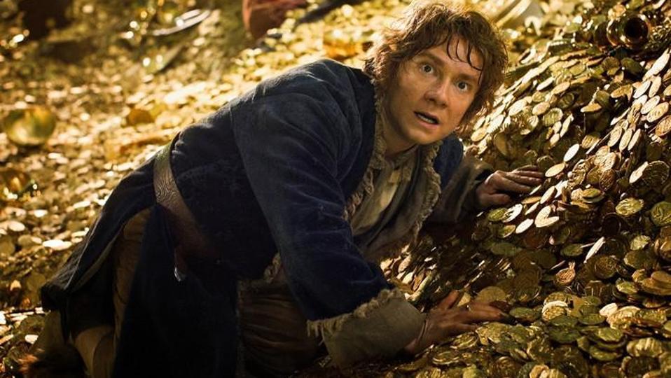 Martin Freeman as Bilbo Baggins in 'The Hobbit: The Desolation of Smaug'