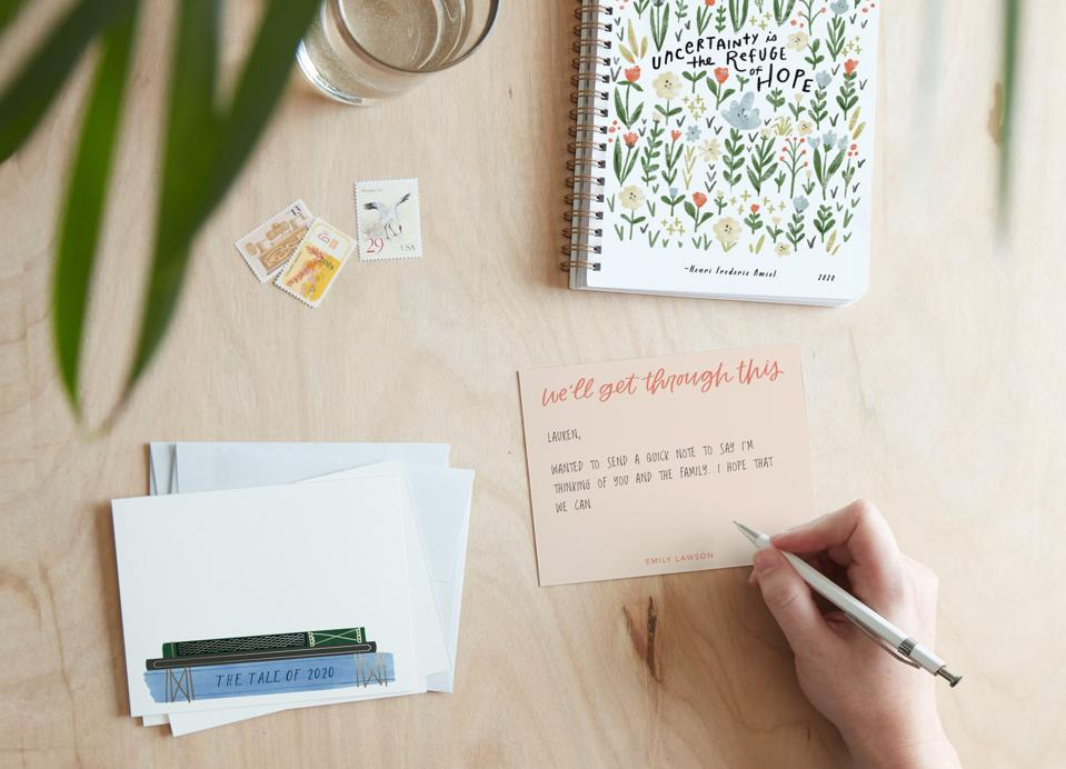 Minted Notes of Grattitude