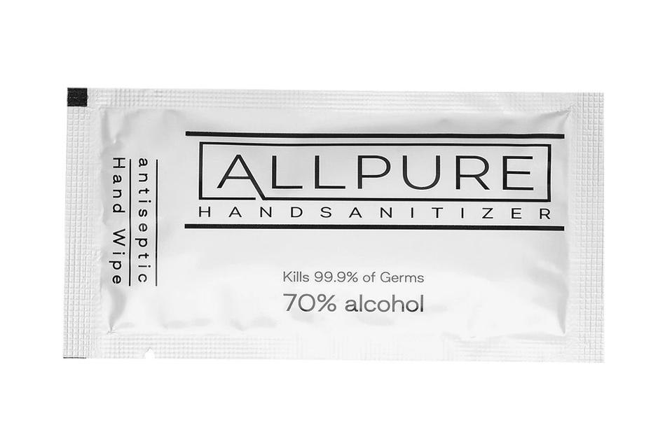 ALLPURE Individually Wrapped Hand Sanitizer