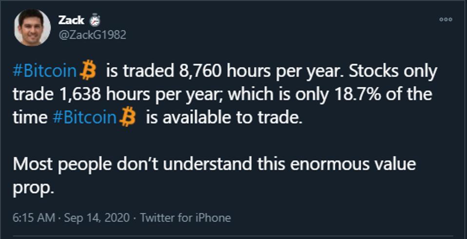BTC Trading vs. Stock Trading