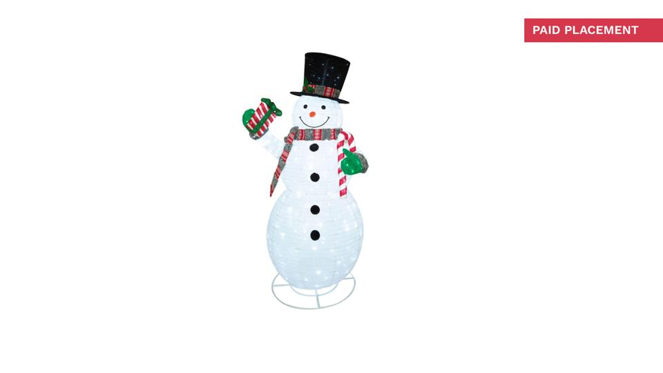 Member's Mark 84'' Pre-Lit LED Pop-up Twinkling Snowman