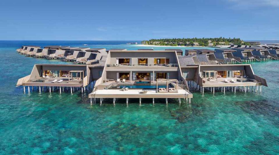 St. Regis Maldives Vommuli Resort john jacob astor estate overwater bungalow