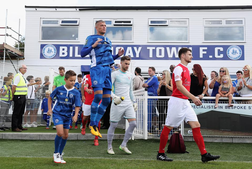 Billericay Town v Didcot Town - The Emirates FA Cup Qualifying First Round