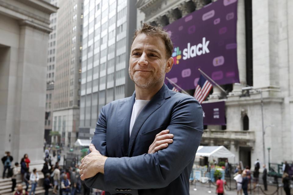 Financial Markets Wall Street Slack IPO