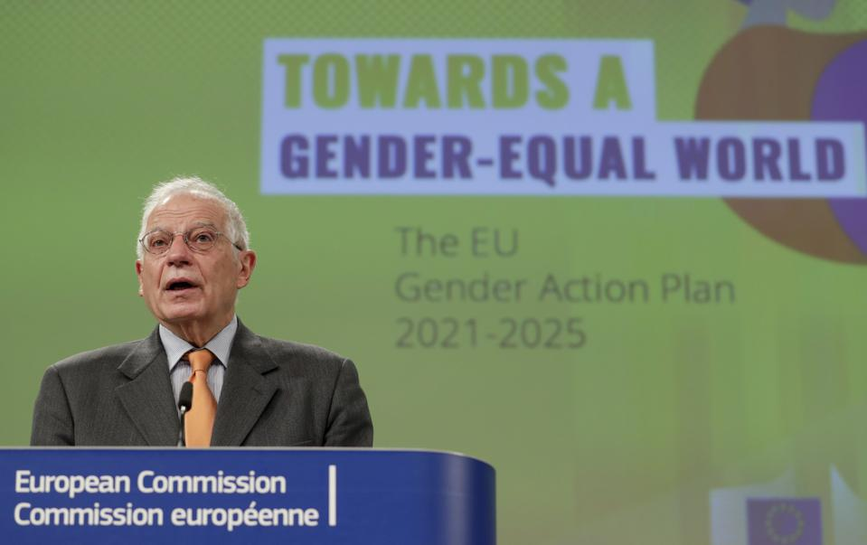Belgium EU Gender Equality