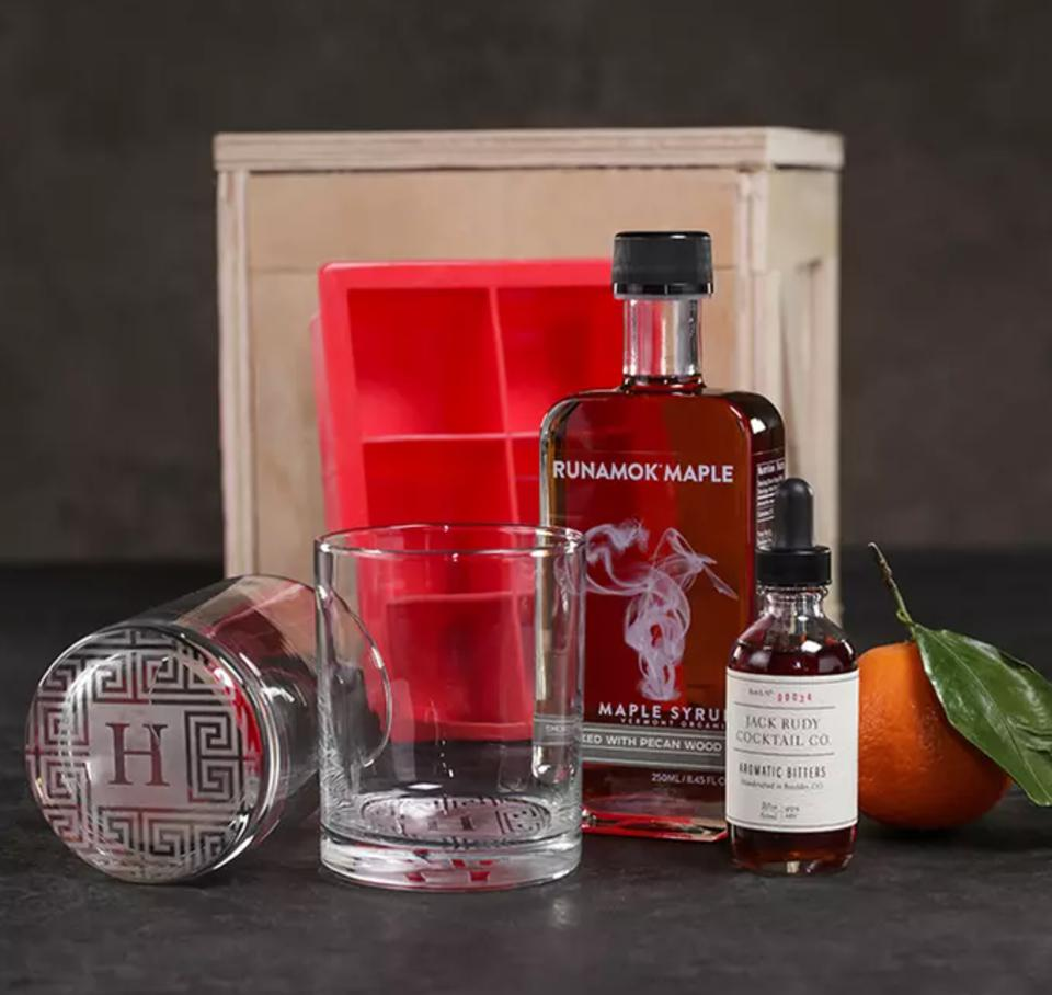 Personalized Smokin' Old Fashioned Crate