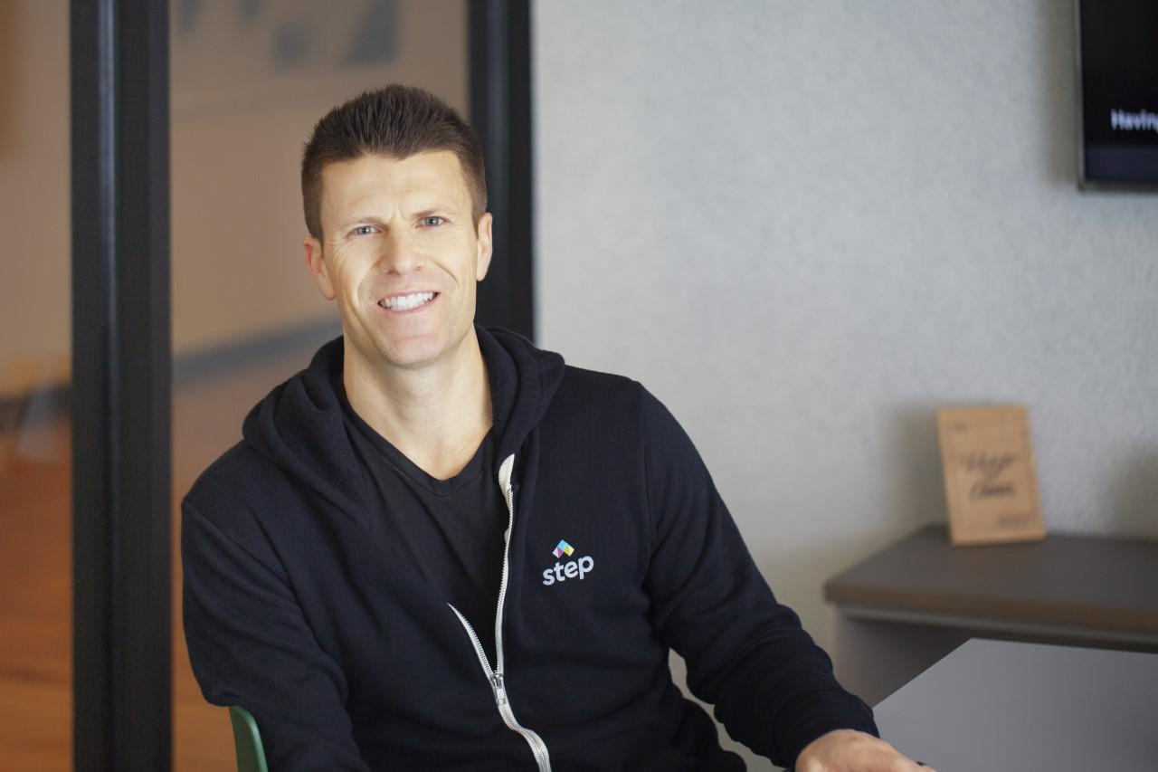 Step CEO and Co-founder CJ MacDonald