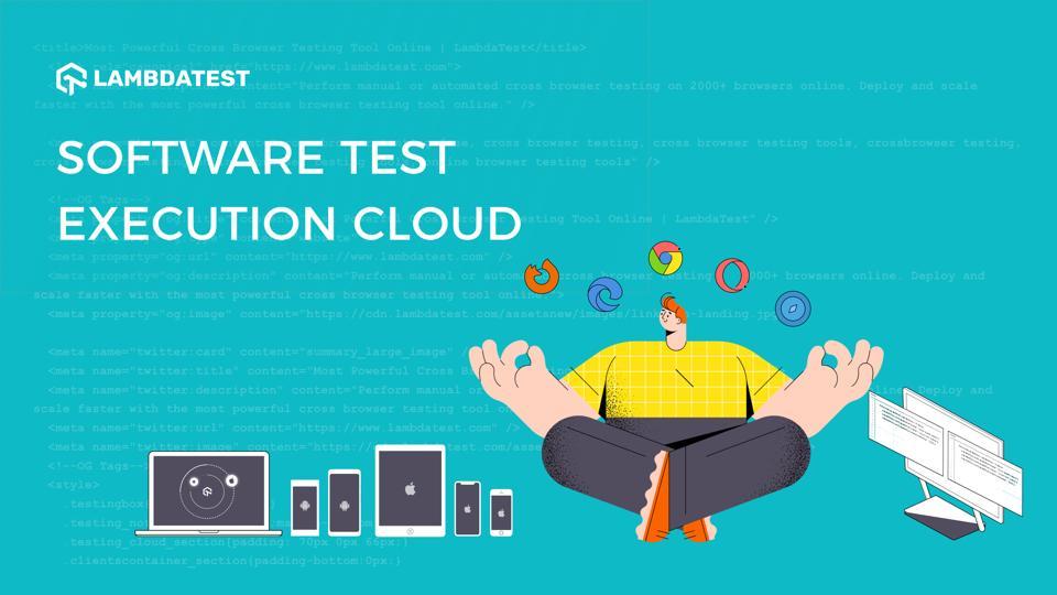 A screenshot of Lambda Test's platform