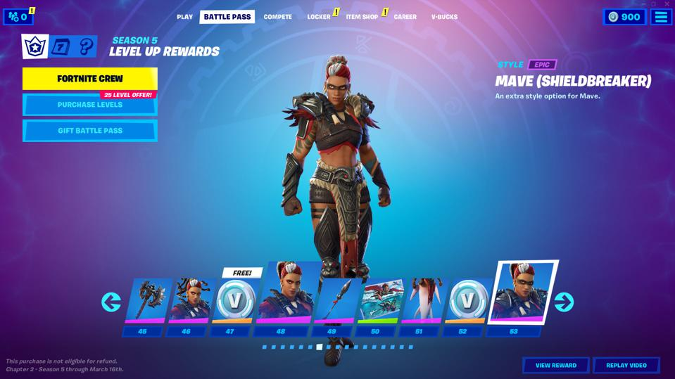 Here S Everything In The Fortnite Chapter 2 Season 5 Battle Pass Season 5 wallpapers to download for free. fortnite chapter 2 season 5 battle pass