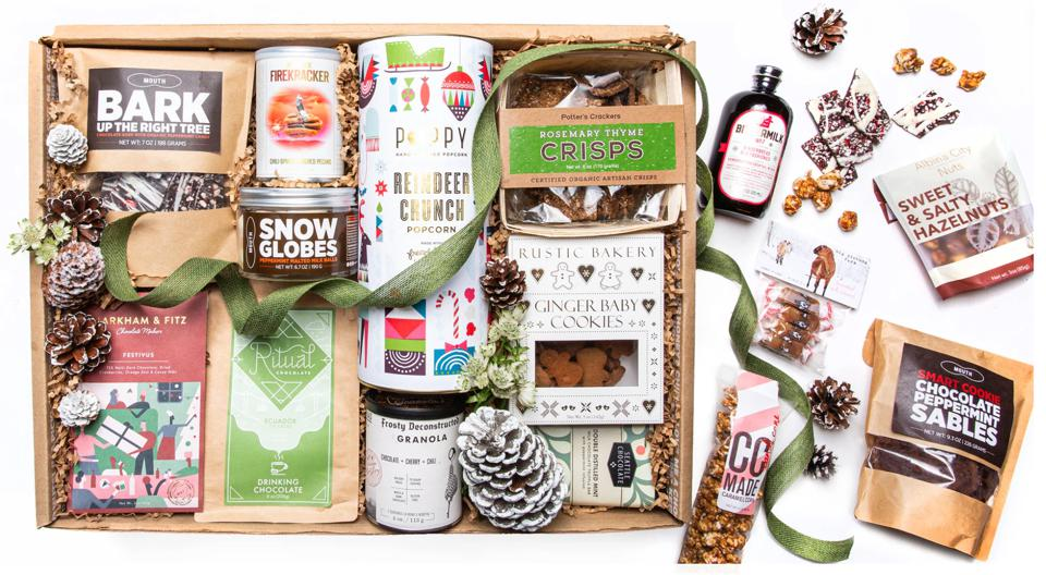 World's Greatest Holiday Box Made By Mouth