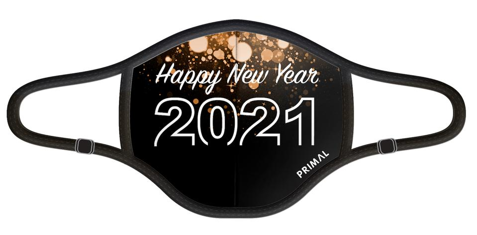 Primal Wear New Year's Eve 2.0 Mask, Filter and Frame Bundle